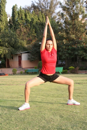 Natrajasana, Yoga for Football, Total Yoga, Total Yoga Bootcamp, Neetu Singh, yoga