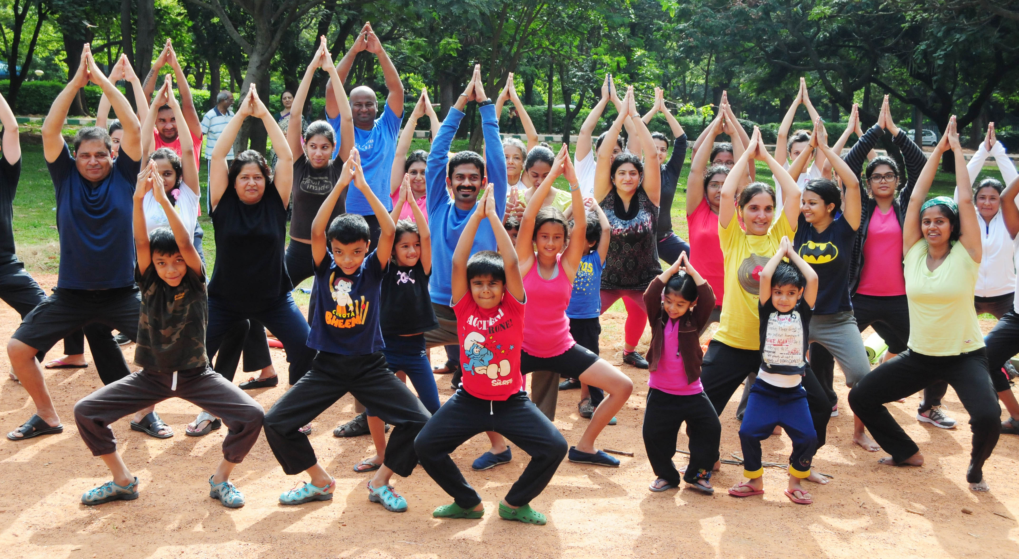 yoga, total yoga, yoga in the park, yoga in pune
