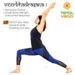 Veerbhadrasana 1, warrior 1