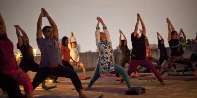 Full moon yoga meditation, Total yoga events