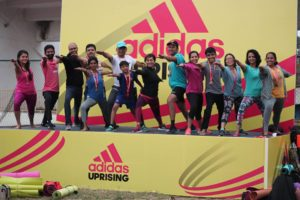 Total Yoga @ Adidas uprising