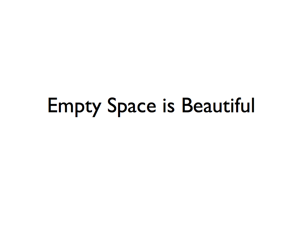 Minimalist Classroom Quotes ~ Minimalism creating space in our lives