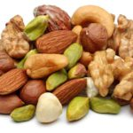 Healthy nuts, daily diet, total yoga, pre workout food