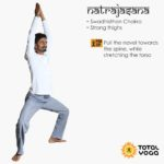Natrajasana, Total yoga, strong thighs